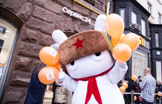 Церемония открытия флагманского магазина Xiaomi в Москве