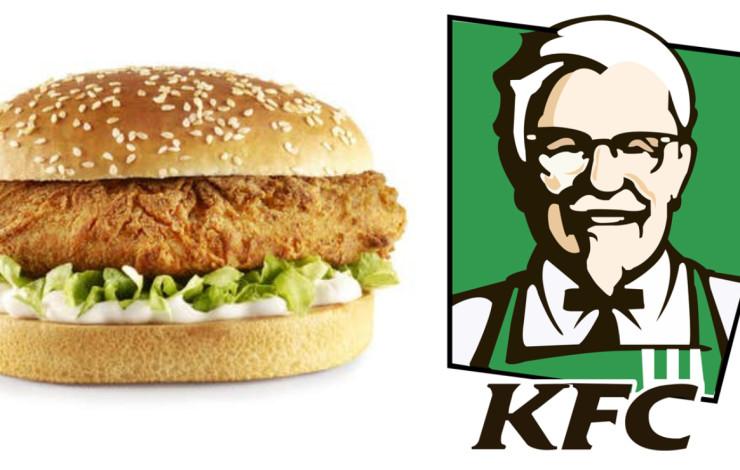 KFC создал бургер для вегетарианцев