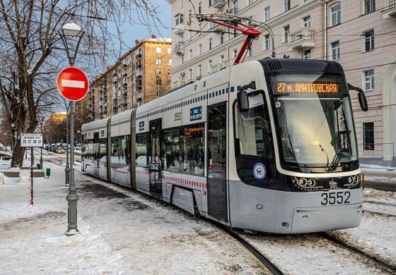 В Москве будет запущен первый в России беспилотный трамвай